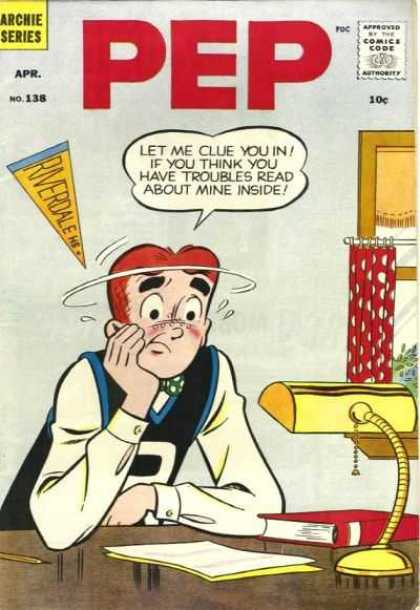 Pep Comics 138 - Riverdale High - Books - Homework - Archie - Archie Series