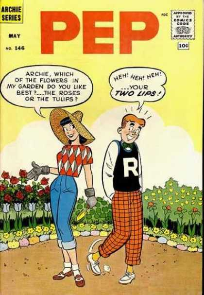 Pep Comics 146 - Archie Comics - May - No 146 - R - Roses
