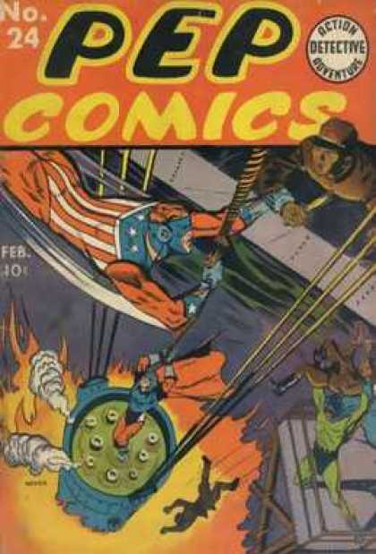 Pep Comics 24 - No 24 - 24 - Feb - February - Detective