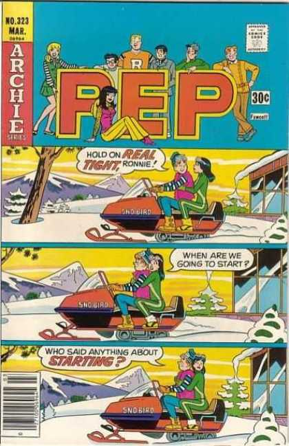 Pep Comics 323 - Archie - Archie Series - No 323 - Hold On Real Tight - Mar