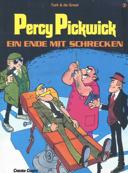 Percy Pickwick 2 - Carlsen Comics - Turk U0026 De Groot - Gun - Man - Hat