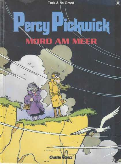 Percy Pickwick 4 - Mord Am Meer - Cliff - Seagull - Carlsen Comics - Turk U0026 De Groot