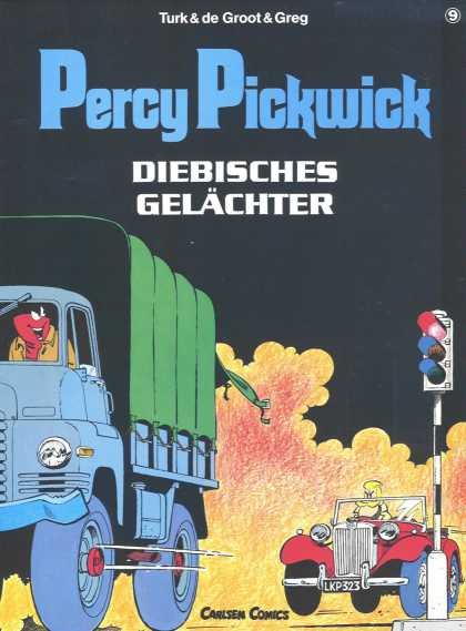 Percy Pickwick 9 - Action - Vroom - Zoom Away - Go Go Go - Speed