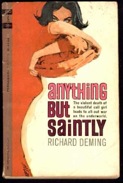 Perma Books - Anything But Saintly - Richard Deming