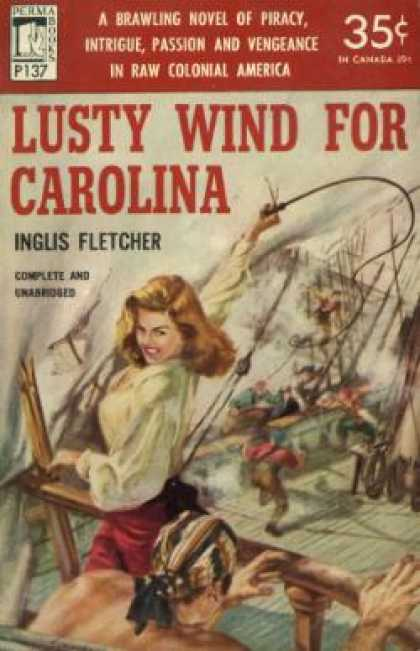 Perma Books - Lusty wind for Carolina - Inglis Fletcher