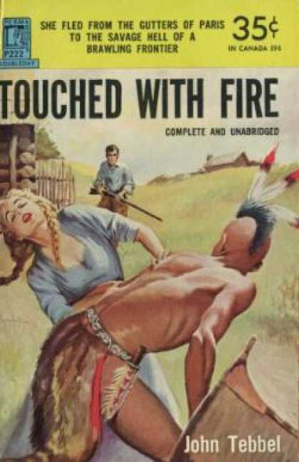 Perma Books - Touched With Fire - John Tebbel