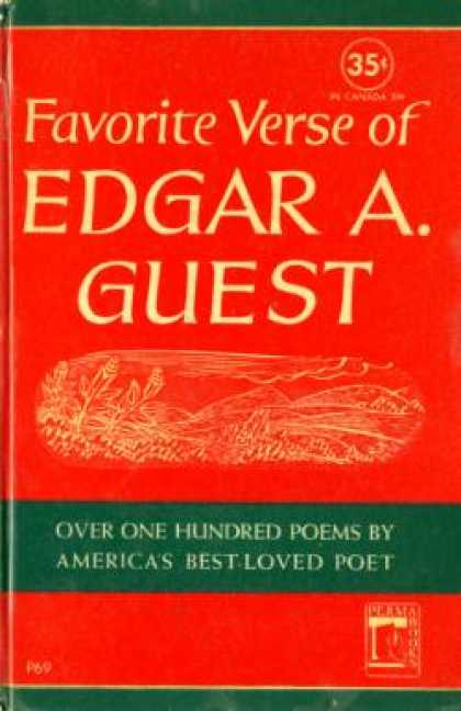 Perma Books - Favorite Verse of Edgar A. Guest