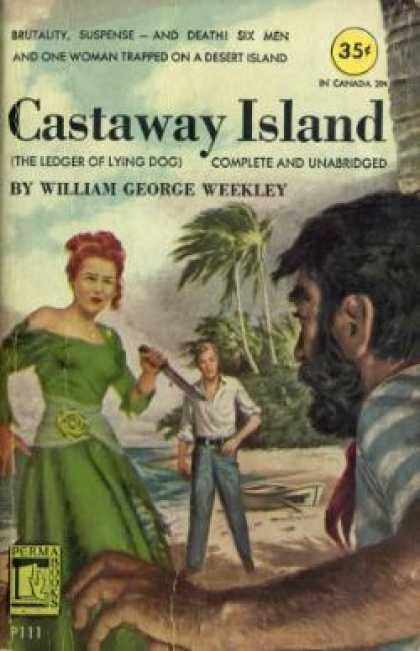 Perma Books - Castaway Island - William George Weekley
