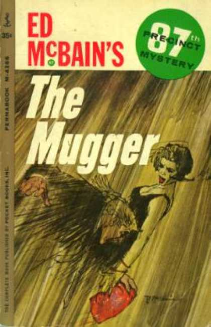 Perma Books - The Mugger; 87th Precinct Mystery - Ed Mcbain
