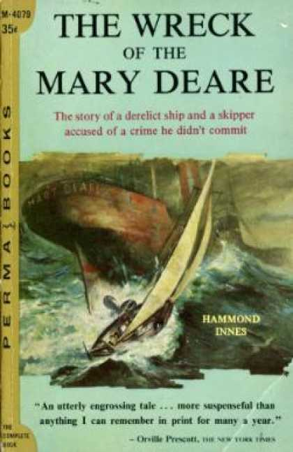 Perma Books - The Wreck of the Mary Deare - Hammond Innes