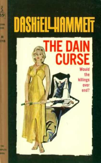 Perma Books - The Dain Curse - Dashiell Hammett