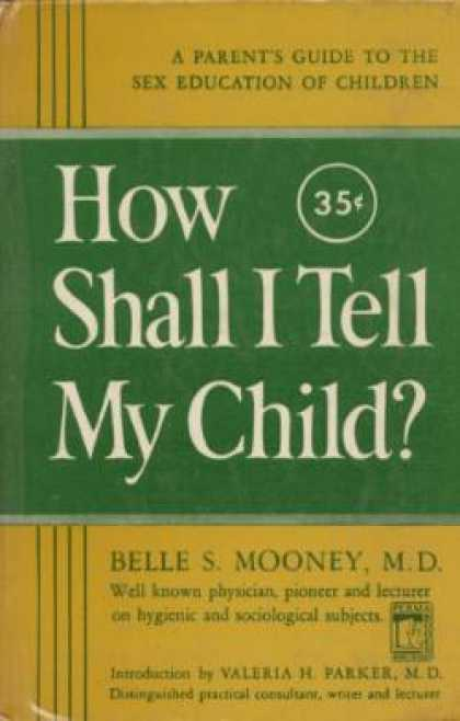 Perma Books - How Shall I Tell My Child!: A Parents' Guide To Sex Education for Children,