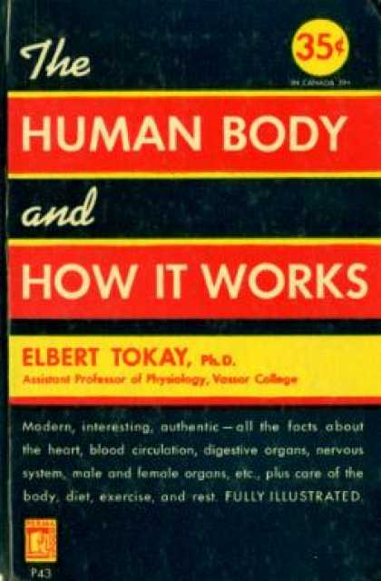 Perma Books - The Human Body and How It Works - Elbert Tokay