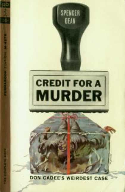 Perma Books - Credit for a Murder - Spencer Dean