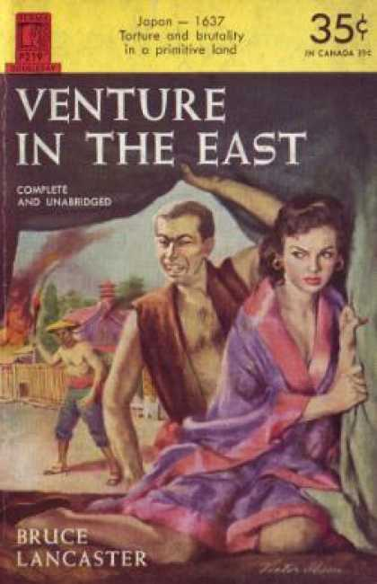Perma Books - Venture In the East - Bruce Lancaster