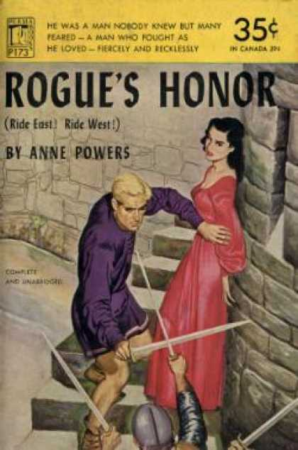 Perma Books - Rogue's Honor - Anne Powers