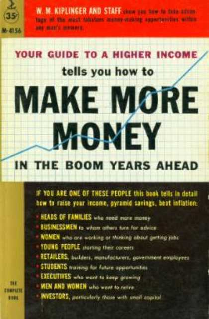 Perma Books - Your Guide To a Higher Income - W. M. & Staff Kiplinger