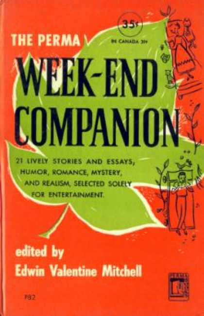 Perma Books - The Perma Week-end Companion - Edwin Valentine Mitchell