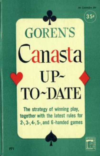 Perma Books - Canasta Up-to-date - Charles Henry Goren