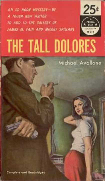Perma Books - The Tall Delores - Michael Avallone