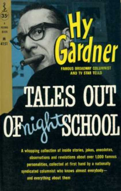 Perma Books - Tales Out of Night School - Hy Gardner
