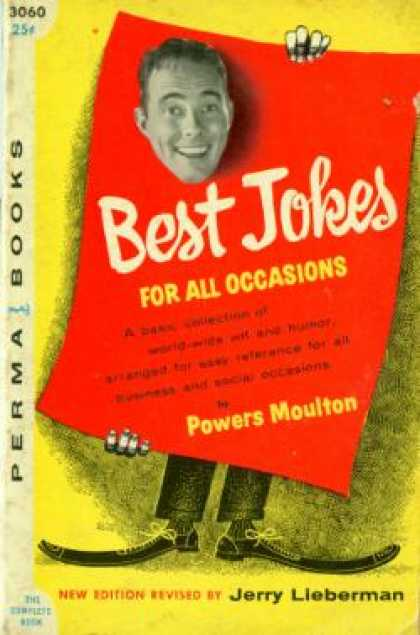 Perma Books - Best Jokes for All Occasions - Powers Moulton