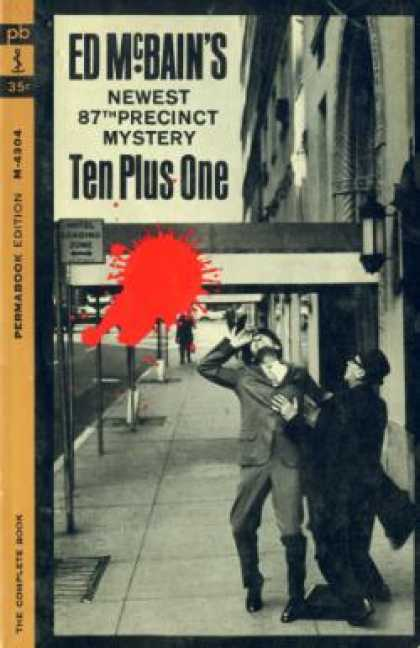 Perma Books - Ten Plus One - Ed Mcbain