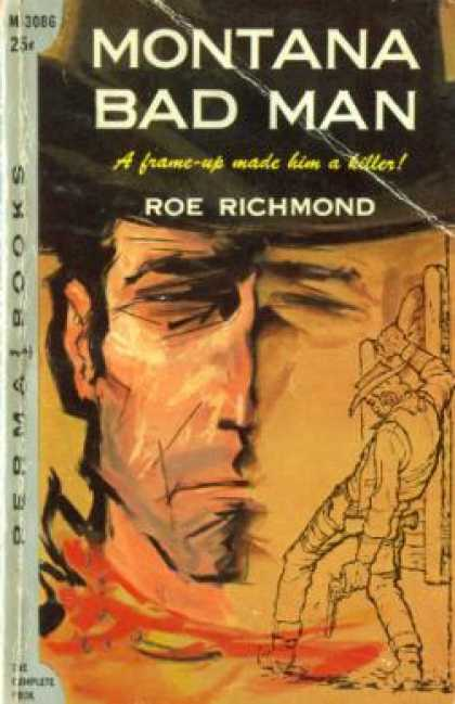 Perma Books - Montana Bad Man - Roe Richmond