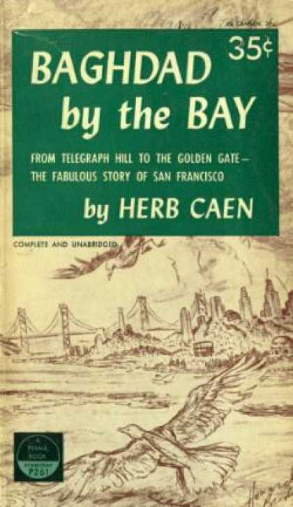 Perma Books - Baghdad by the Bay - Herb Caen