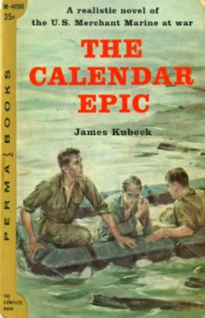 Perma Books - The Calendar Epic - James Kubeck