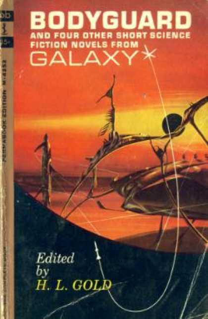 Perma Books - Bodyguard and Four Other Short Science Fiction Novels From Galaxy - Christopher
