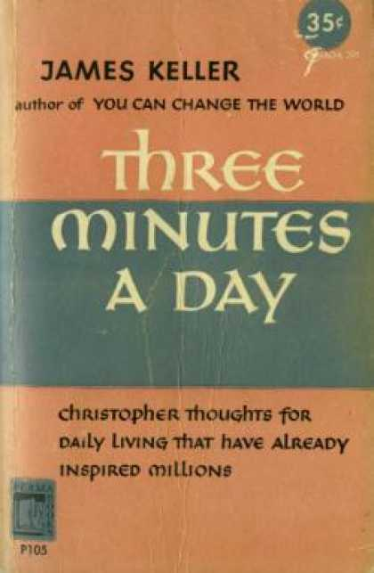 Perma Books - Three Minutes a Day: Christopher Thoughts for Daily Living - M.m. James Keller