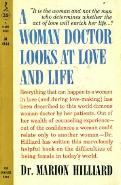 Perma Books - A Woman Doctor Looks at Love and Life - Marion Hilliard