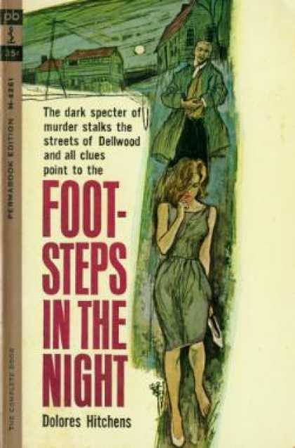 Perma Books - Footsteps In the Night - Dolores Hitchins