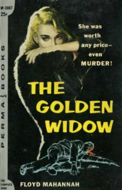 Perma Books - The Golden Widow - Floyd Mahannah
