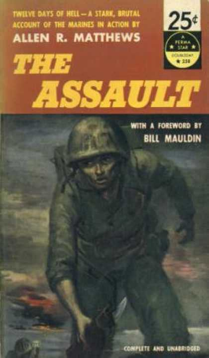 Perma Books - The Assault - Allen R. Matthews