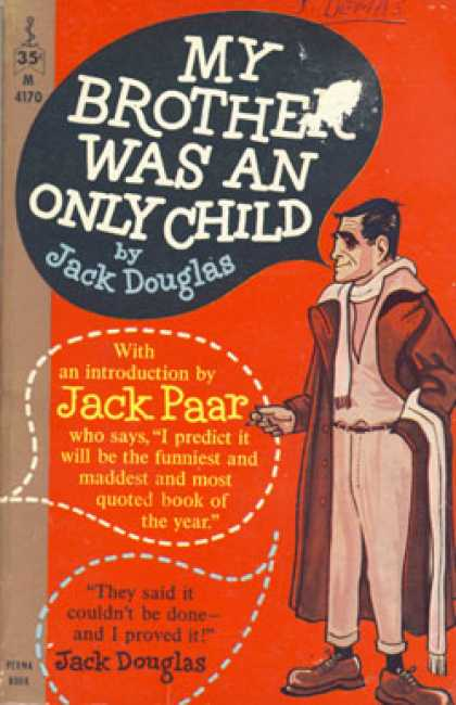Perma Books - My Brother Was an Only Child - Jack Douglas