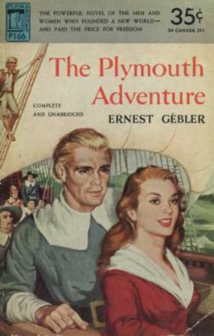 Perma Books - The Plymouth Adventure - Ernest Gebler