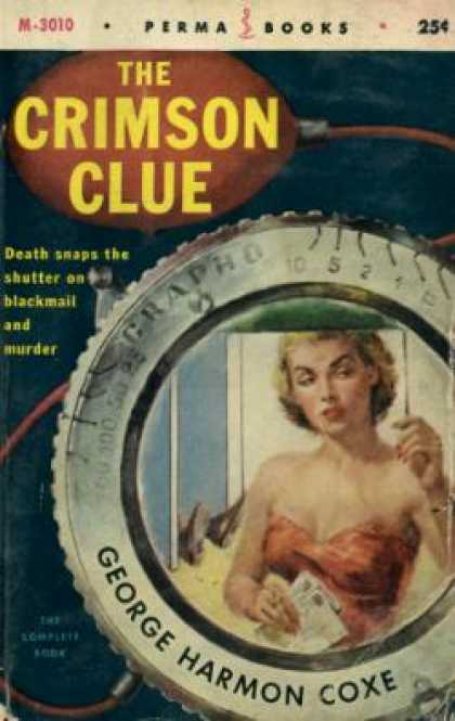 Perma Books - The Crimson Clue - George Harmon Coxe