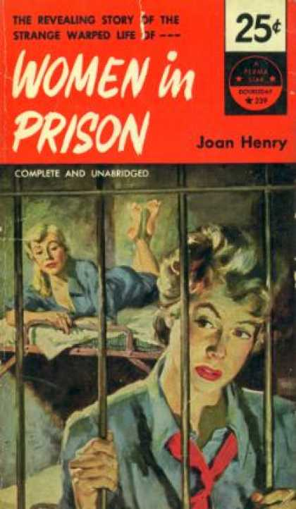 Perma Books - Women In Prison - Joan Henry