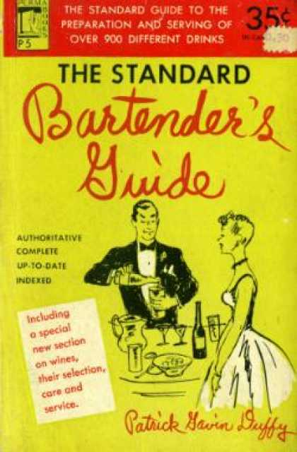 Perma Books - The Standard Bartender's Guide.