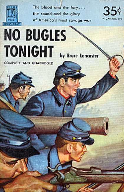 Perma Books - No Bugles Tonight #p234 - Bruce Lancaster