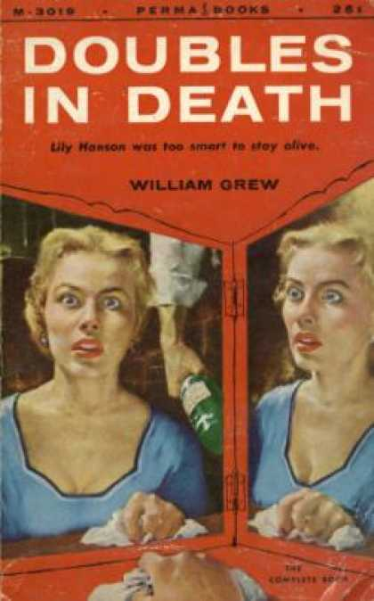 Perma Books - Doubles In Death - William Grew