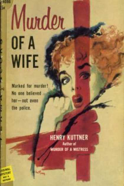 Perma Books - Murder of a Wife - Kuttner