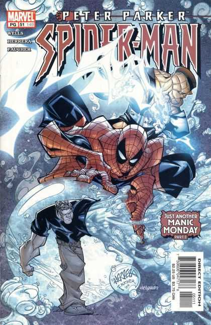 Peter Parker: Spider-Man 51 - Ice - Bubble - Super Hero - Fight - Manic Monday