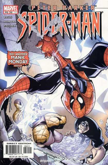 Peter Parker: Spider-Man 52 - Height Fight - Web Height - Up Spider - Safe Up - Hanging