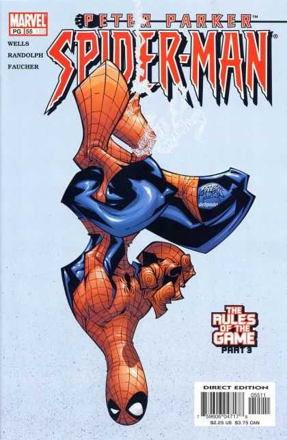 Peter Parker: Spider-Man 55 - Marvel - Peter Parker - Wells - Randolph - Direct Edition