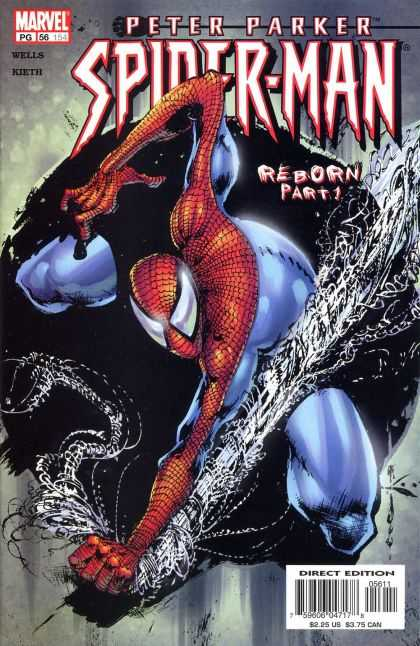 Peter Parker: Spider-Man 56 - Reborn - Peter Parker - Marvel - Part 1 - Web - Sam Kieth