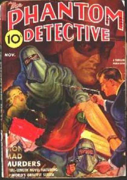 Phantom Detective 34
