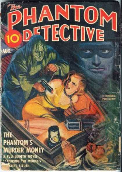 Phantom Detective 47 - Gun - Boat